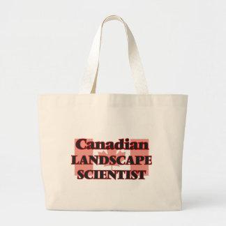 Canadian Landscape Scientist Jumbo Tote Bag