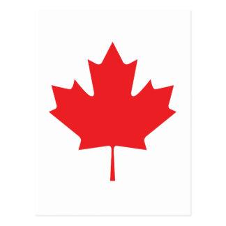 CANADIAN LEAF POSTCARD