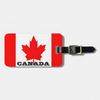Canadian Luggage Tags