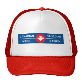 Canadian Made, Canadian Raised Mesh Hats