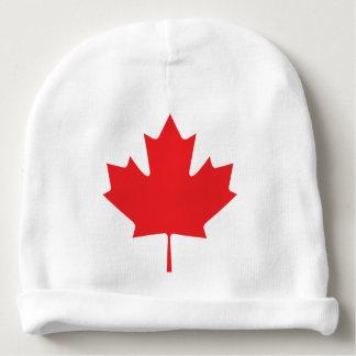 Canadian Maple Leaf Baby Beanie