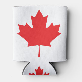 Canadian Maple Leaf Can Cooler