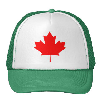 Canadian Maple Leaf Hats