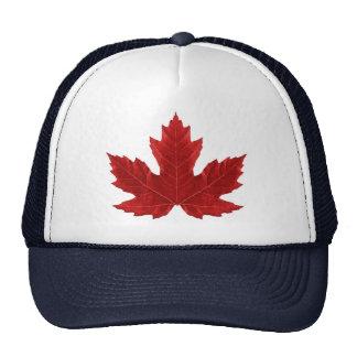 Canadian Maple Leaf Cap Trucker Hat