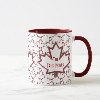 Canadian Maple Leaf Coffee Mug