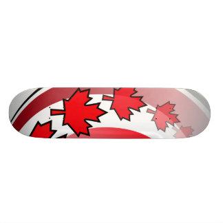 Canadian Maple Leaf Deck 21.6 Cm Old School Skateboard Deck