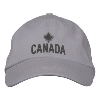 Canadian Maple Leaf Embroidery Canada Embroidered Hat