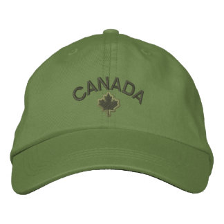 Canadian Maple Leaf Embroidery Canada Embroidered Hats