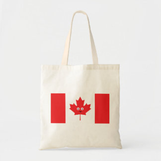 Canadian Maple Leaf Face