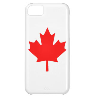 Canadian Maple Leaf Flag Case iPhone 5C Case