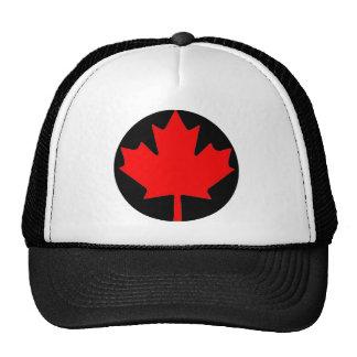 Canadian Maple Leaf Flag Trucker Hats