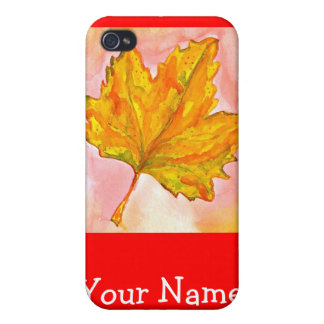 Canadian Maple Leaf Case For iPhone 4