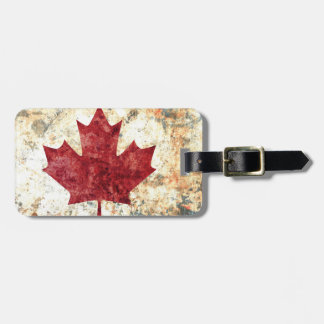 Canadian Maple Leaf Luggage Tag