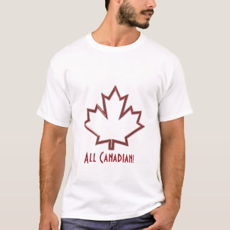 Canadian Maple Leaf Men's T-shirt