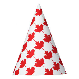 Canadian Maple Leaf Party Hat