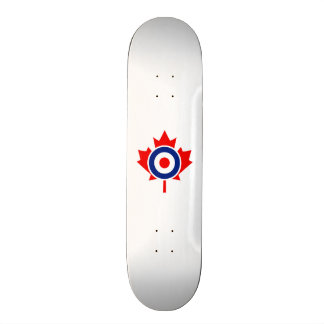 Canadian Maple Leaf Roundel Mod CANADA Skate Decks