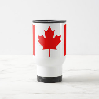 Canadian Maple Leaf Travel Mug