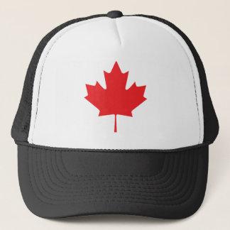 Canadian Maple Leaf Trucker Hat