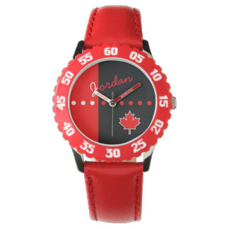 Canadian Maple Leaf Watch