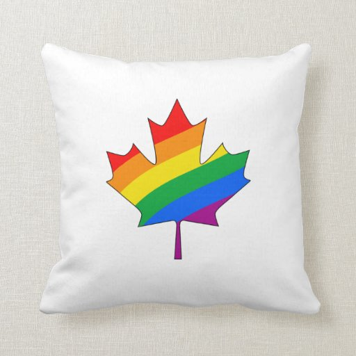 CANADIAN MAPLE PRIDE THROW PILLOWS