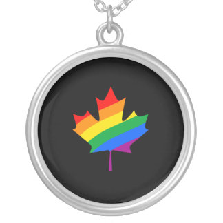 CANADIAN MAPLE PRIDE PERSONALIZED NECKLACE