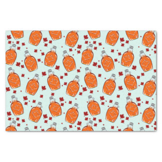 Canadian Maple Syrup Pattern Tissue Paper