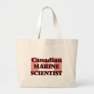 Canadian Marine Scientist Jumbo Tote Bag