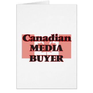 Canadian Media Buyer Greeting Card