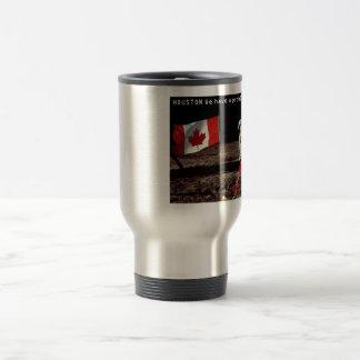 Canadian  Moon Landing Stainless Steel Travel Mug