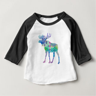Canadian Moose Baby T-Shirt