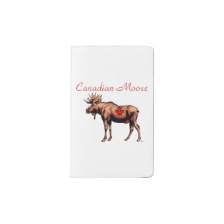 Canadian Moose Notebook Cover