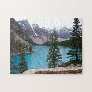 Canadian Mountain Range Jigsaw Puzzle