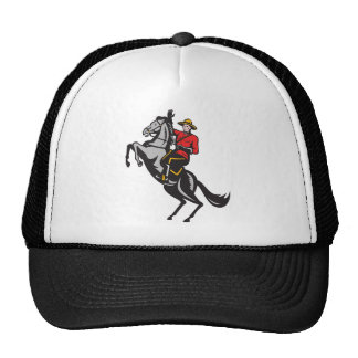 Canadian Mounted Police Mountie Riding Horse Hat