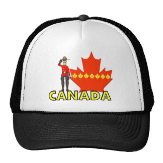 Canadian Mountie Hat