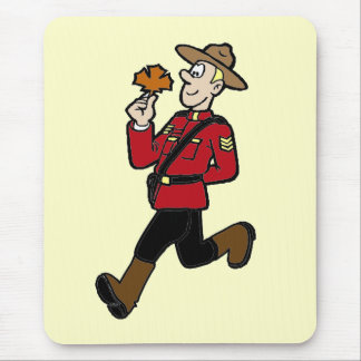 Canadian Mountie Mouse Pad