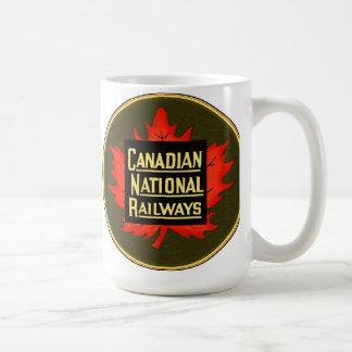 Canadian national railways coffee mug