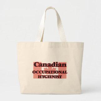 Canadian Occupational Hygienist Jumbo Tote Bag