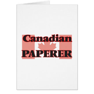 Canadian Paperer Greeting Card