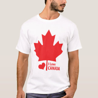 Canadian Patriot Canada Day Maple Leaf T-Shirt