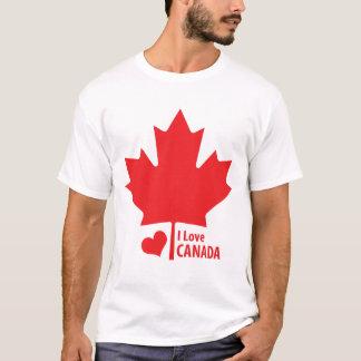 Canadian Patriot Canada Day Maple Leaf T-Shirt