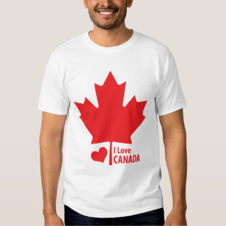 Canadian Patriot Canada Day Maple Leaf Tshirt