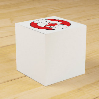 Canadian Peace Sign Favour Box