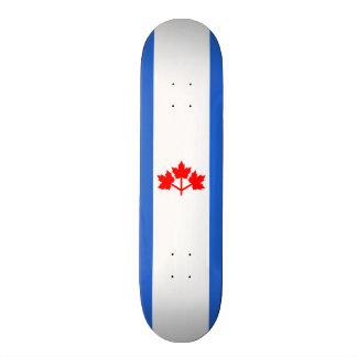 Canadian Pearson Pennant Skateboard Deck