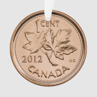 Canadian penny 2012