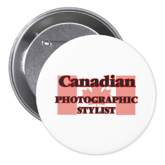 Canadian Photographic Stylist 7.5 Cm Round Badge