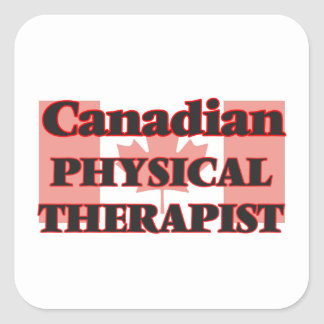 Canadian Physical Therapist Square Sticker