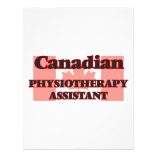 Canadian Physiotherapy Assistant 21.5 Cm X 28 Cm Flyer