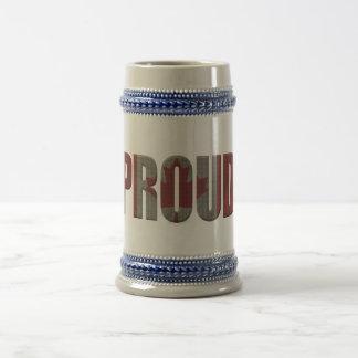 Canadian pride beer stein