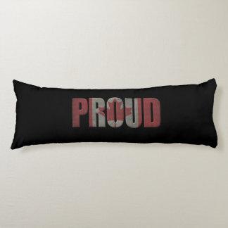 Canadian pride body cushion