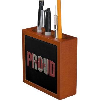 Canadian pride desk organiser